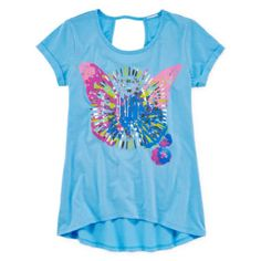 Arizona Keyhole Back Graphic Top - Girls 7-16 and Plus  found at @JCPenney