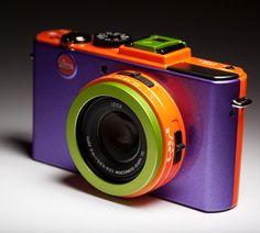 ColorWare Custom Leica D-lux 5 Camera. #photo #camera #color
