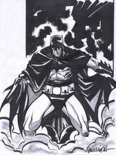 Batman by Riccardo Burchielli