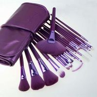 Venta del envío libre 2014 Herramientas de maquillaje Nuevo de Professtional 21 PCS del maquillaje del kit del sistema de cepillo cosmético del cepillo caliente