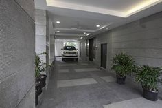 Spacious car porch in Ground Floor can hold 3 cars.