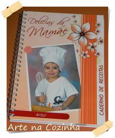 Arte na Cozinha: Um caderno de receitas especial...