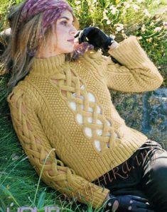 Пуловер (ж) 08*417 Phildar