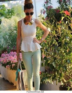 Spring 2013 Trends: How To Wear Mint Green - 44FashionStreet.com