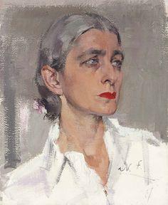 "Nicolai Fechin, Rebecca Salsbury James, ca. 1935, 20x16"" o/c"