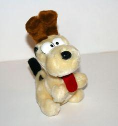 "1983 Odie 7"" Tall Plush Stuffed Animal Garfield | eBay"