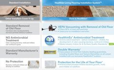 Exclusively at Carpet One, Healthier Living Installation with antimicrobial protection for your flooring to minimizing dust, inhibits allergens, and mold. Flooring Installation, Home Improvement Contractors, Dyi, Hardwood Floors, Healthy Living, How To Remove, Wood Floor Tiles, Wood Flooring, Healthy Life