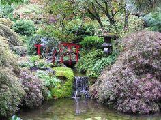 Butchart Gardens: In the Japanese Garden.  #butchartgardens #victoria #explorebc