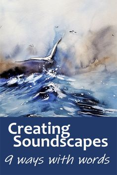 Musical soundtracks are an integral part of film and tv, used to create mood, tension, pace, emotion etc. You can do the same with writing. Here's how to use sound in writing #Writing #Poetry