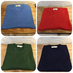 Sikke et regnvejr her i #Gudhjem, og de fleste af vores skønne (kvindelige) kunder i #ThorHodda ved også, at de kan lune sig i vores lækre cashmere og uld varer på en kølig dag men vidste du, at vi også har lækre ting til herrerne? Som disse lækre trøjer i #lyseblå, #rød, #flaskegrøn og #marineblå Uld, Thor, Holidays, Tank Tops, Sweatshirts, Sweaters, Women, Fashion, Moda