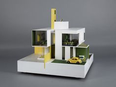 Doll Houses Designed for Charity