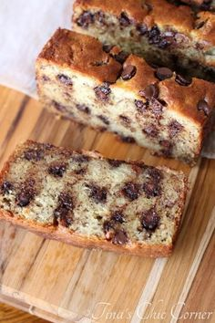 Chocolate Chip Banana Bread - best ever!