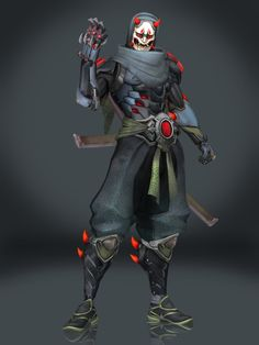 Genji (Oni) by Sticklove on DeviantArt Character Portraits, Character Art, Character Design, Cyberpunk Character, Cyberpunk Art, Armor Concept, Weapon Concept Art, Genji Oni, Ninja Armor