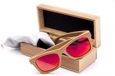 Bambus #Sonnenbrille, red lover #bambuu