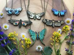 INTO THE LIGHT wooden moth image necklace by Run2theWild on Etsy https://www.etsy.com/listing/164987591/into-the-light-wooden-moth-image