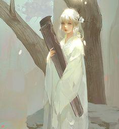 Anime Art Girl, Manga Girl, Persona Anime, Graphisches Design, Anime Art Fantasy, China Art, Historical Art, Beautiful Anime Girl, Looks Cool