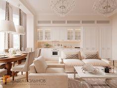 Фото интерьер гостиной из проекта «Дизайн квартиры 151 кв.м. в клубном доме «DEL' ARTE», современная классика»