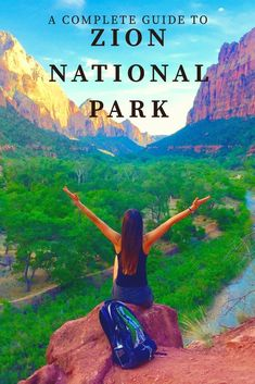 if you've never been to Zion National Park, this is the article to click and read! This is everything this park has to offer! Travel With Kids, Travel Usa, Family Travel, Family Vacations, Family Camping, Solo Travel, Cool Places To Visit, Places To Travel, Travel Destinations