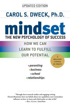 Mindset: The New Psychology of Success by Carol Dweck - BookBub Guy Kawasaki, Book Club Books, Good Books, Books To Read, Idea Books, Believe, Cards For Men, Fixed Mindset, Success Mindset
