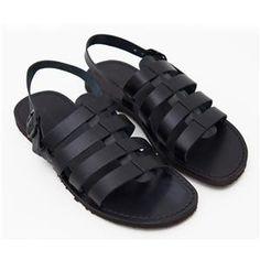 Sandalo ciak nero da uomo n. 42