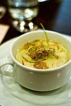 Potato Leek Soup at Beast (Portland, OR). #UniqueEats #soup