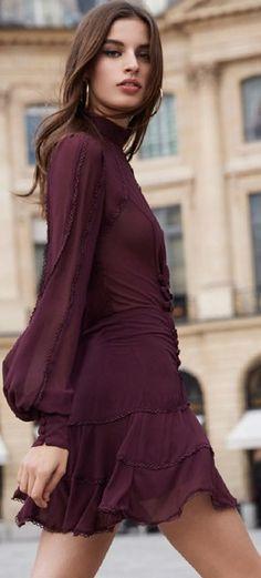 Street Style ~ Dress Bardot AW '18.
