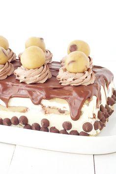 Cookie Dough Ice Cream Layer Cake — Sweetest Menu