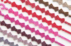 Cruciani bracelets bow-tie