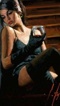 Fabian Perez Saba on the Stairs Whitewall painting for sale - Fabian Perez Saba on the Stairs Whitewall is handmade art reproduction; You can shop Fabian Perez Saba on the Stairs Whitewall painting on canvas or frame. Fabian Perez, Woman Painting, Painting & Drawing, Sexy Painting, Photo Glamour, Arte Pop, Pulp Art, Beautiful Paintings, Beautiful Wall