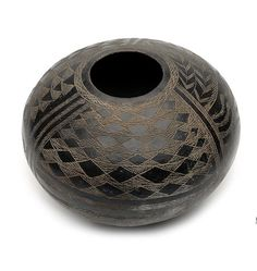 Africa | Terracotta beer pot ~ aqulo ~ from the Anyua people of the Otalo region of Sudan | 20th century