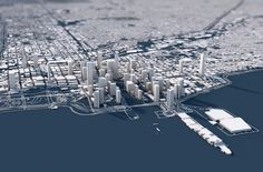 """""""A city's appeal is often hidden in its basic structure. These unique three-dimensional city maps show the topography, architecture and street network of a city from an entirely new perspective. A perfect mix of information and visual fascination. Crea Design, Gfx Design, Graphic Design, Presentation Board Design, City Layout, City Model, Urban Fabric, City Landscape, City Maps"""