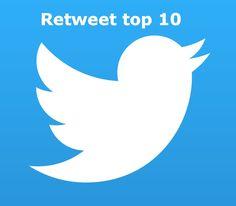 Top 10 twitter berichten met de meeste retweets in week 20