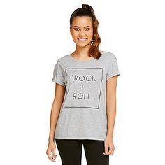 Dannii Minogue Petites Frock & Roll T-Shirt – Target Australia