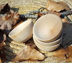 Wooden Palm Dish - Small