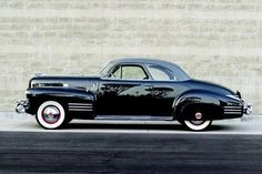 1941 Cadillac Series 62 Deluxe Coupe.