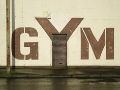 Gym; Environmental Graphic Design