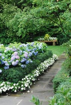 an idea for the side yard