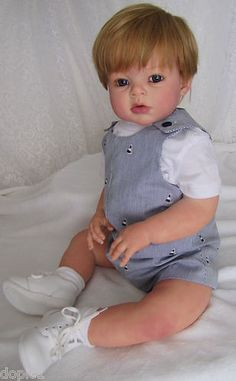 "Nancy's Lil Darlings ARI was ARIANNA by REVA SCHICK 30"" Toddler BOY  Reborn"