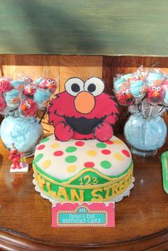 Elmo & Sesame Street Birthday Party Ideas | Photo 1 of 21
