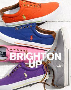 Nordstrom Men's Shop - Polo Ralph Lauren: Colorful Sneakers