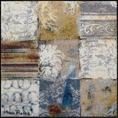#Pattern waschbare #Fußmatte Salonloewe