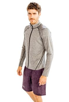 #Hit all the #fashion #chords #perfectly with this #grey #jacket from @Alanic.com