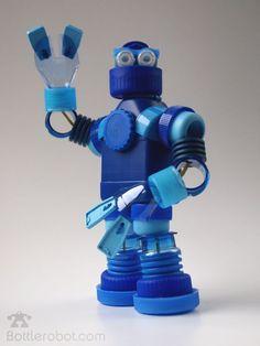 Роботы из пластиковых бутылок - simply miu