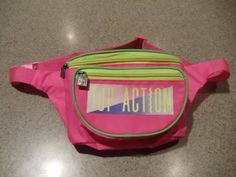 Neon Pink Yellow and Green Vintage Fannypack by CosbysCloset, $10.00 80's 90's flashback