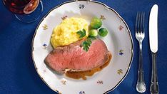 Roastbeef Rezept » Thea Pork, Meat, Drinking, Essen, Rezepte, Kale Stir Fry, Pigs, Pork Chops