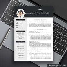 Professional Resume Template CV Template Cover von ResumeExpert