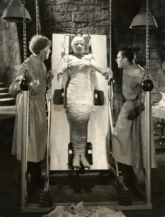 The Bride of Frankenstein - Under wraps