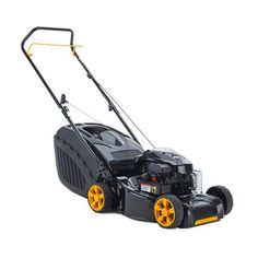 McCulloch Petrol 4 Wheel Rotary Mower Push Briggs And  Stratton Engine