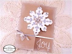 Created for CC #25 using Joy Sweet Cuts and Silver Sequins - www.papersweeties.com!  Designed by Debbie Marcinkiewicz.