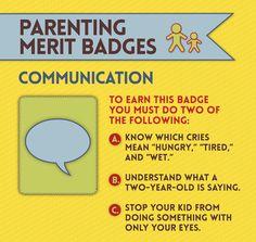 Merit Badges Every Parent Deserves